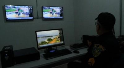 Criminalidade é reduzida com vigilância por câmeras em Costa Marques