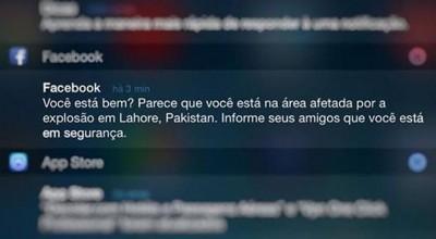 Facebook erra localidades de 'status de segurança' de ataque no Paquistão