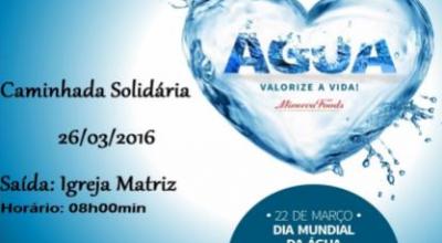 Grupo Minerva realiza Caminhada Solidaria do Dia Mundial da Água