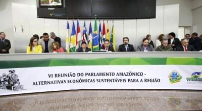 Na abertura, Maurão destaca importância das discussões do Parlamento Amazônico