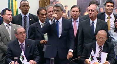 PMDB oficializa rompimento com governo Dilma