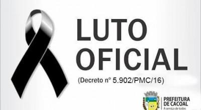 Prefeitura de Cacoal decreta luto oficial pela morte da esposa e filha de ex-secretário