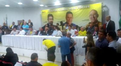 Raupp abona filiações dos deputados Maurão e Lebrão
