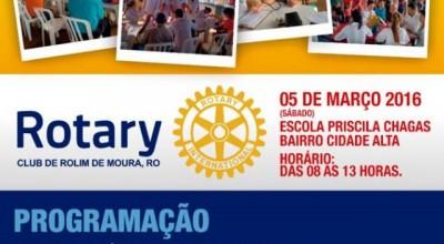 Rotary Club de Rolim de Moura realiza Dia de Ação Social neste sábado