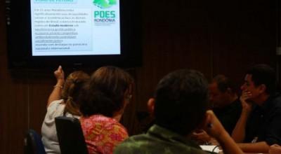 Secretários e técnicos discutem execução do Plano de Desenvolvimento Estadual Sustentável