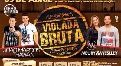 4º edição da Violada Bruta acontece neste sábado e promete agitar Alto Alegre