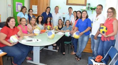Autarquia de Esporte entrega kits esportivos para Escolas municipais de Rolim de Moura