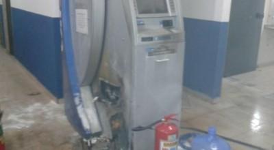 Bandidos com fuzis invadem câmara de Porto Velho e arrombam caixa eletrônico