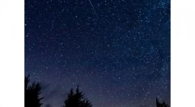 Chuva de meteoros poderá ser vista neste feriado