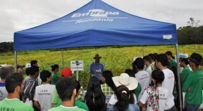 Embrapa capacita futuros técnicos agrícolas de Rondônia