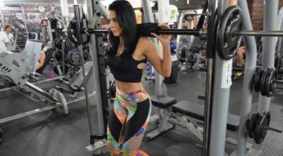 Mamãe fitness de Rondônia muda de vida com musculação e dá dicas na internet
