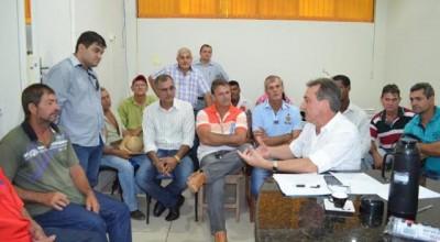 Rolim:Prefeito promove encontro com Presidentes de Associações Rurais