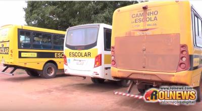 Rolim:Transporte escolar paralisa serviço e alunos da zona rural ficam sem estudar