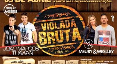 Violada Bruta acontece hoje em Alto Alegre