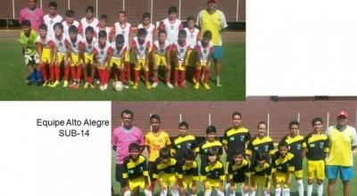 Meninos de Alto Alegre dos Parecis se classificam para semifinal do  III Campeonato Regional Futebol de Base