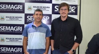 Prefeito de Rolim de Moura anuncia dois novos secretários
