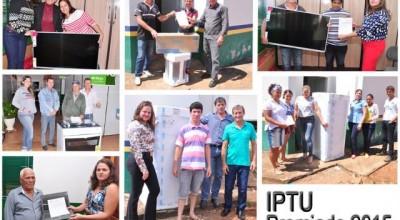 Prefeitura de Alto Alegre dos Parecis entrega prêmios do IPTU premiado 2015