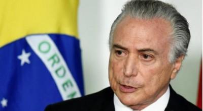 Presidente em exercício Michel Temer anuncia ministério do novo governo