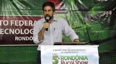 Raupp participa do lançamento da 5ª Rondônia Rural Show em Ji-Paraná