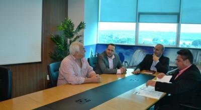 Acompanhados do Deputado Estadual Alex Redano, vereadores de Rolim são recebidos pelo Diretor do DER