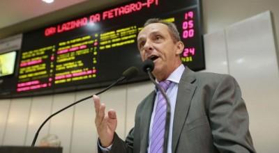 Lazinho da Fetagro pede médico legista para Costa Marques