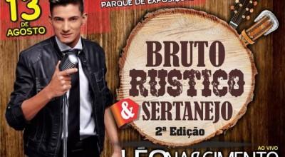 Alto Alegre: Léo Nascimento se apresenta na festa Bruto, Rústico e Sertanejo, em agosto