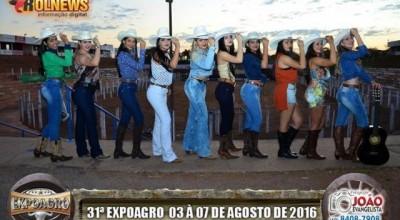 Contagem regressiva para o Baile da Rainha da Expoagro 2016