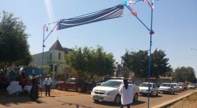 Dia do Motorista  é comemorado com carreata e benção dos veículos em Rolim de Moura