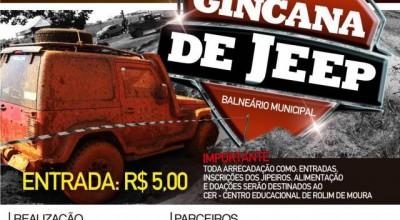 3ª Gincana de Jeep  beneficente acontecerá nos dias 27 e 28 de agosto, em Rolim de Moura