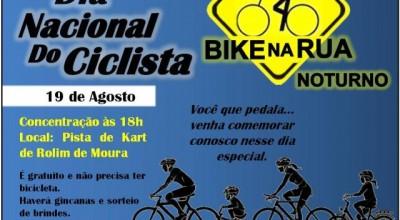 Dia do Ciclista é comemorado nesta sexta-feira em Rolim de Moura
