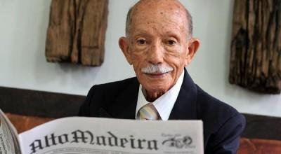 """Lançamento do livro """"Euro Tourinho, a Samaúma da Imprensa Amazônica"""" quarta-feira (10) em Porto Velho"""