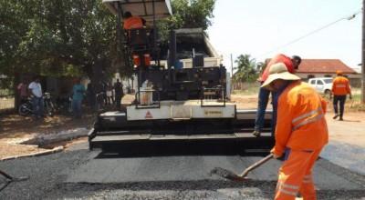 Rolim de Moura vai receber mais 28 quilômetros de asfalto do governo estadual
