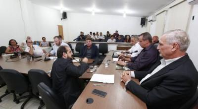 Comissão de Agropecuária recebe secretário e técnicos da Seagri
