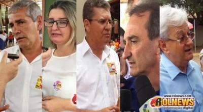 Eleições tranquilas em Rolim: Candidatos e eleitores vão as urnas pela manhã