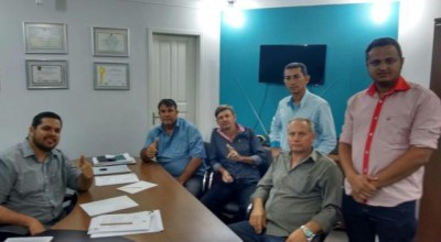 Jean Oliveira recebe visita do prefeito e vereadores eleitos de São Miguel