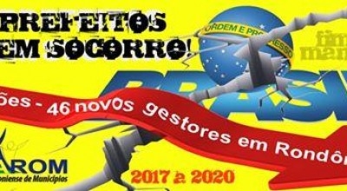 Rondônia tem 46 novos gestores; apenas seis prefeitos se reelegeram