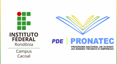 IFRO Campus Cacoal oferece 160 vagas no Pronatec