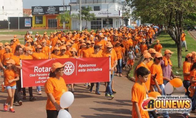 Rolim de Moura e outras 31 cidades de Rondônia caminharão domingo para prevenir o câncer infantojuvenil