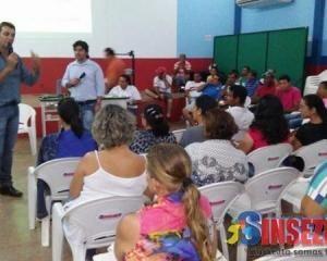 Rolim de Moura: SINSEZMAT realiza assembleia para análise da pauta de vindicação 2017