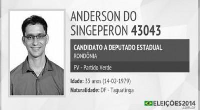 Anderson do Singeperon deve assumir a vaga de Lúcia Tereza na ALE/RO
