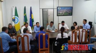 SINSEZMAT faz reunião com vereadores eleitos de Rolim