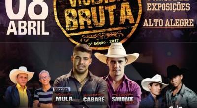 Alto Alegre: 5º edição da Violada Bruta traz show nacional e mais duas duplas