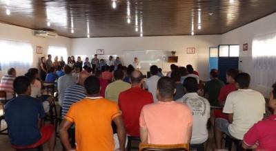 Começam aulas para apenados do presídio regional de Rolim de Moura