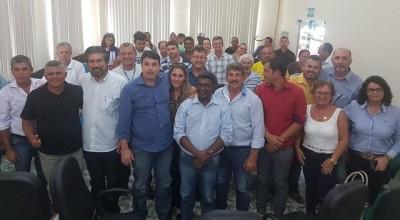 Raupp se reúne com prefeitos e define projetos