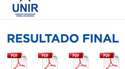 Universidade Federal de Rondônia divulga edital de 2ª chamada de matrículas para ingresso no 1º semestre
