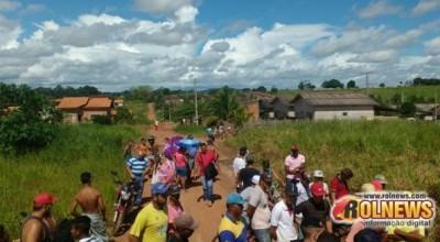 Invasores de terreno em Cacoal são detidos pela PM