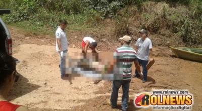 Pescador localiza cadáver boiando no Rio Machado e aciona o Corpo de Bombeiros