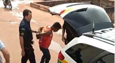 Suspeito pratica furto em Loja no Centro da cidade e acaba detido por populares