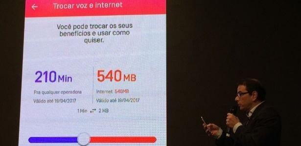 Clientes da Oi poderão trocar minutos de voz por internet a qualquer hora