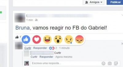 Novidade no Facebook: rede social agora permite reações em comentários